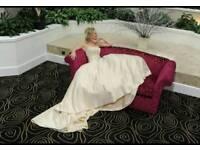 Wedding dress ex shop stock