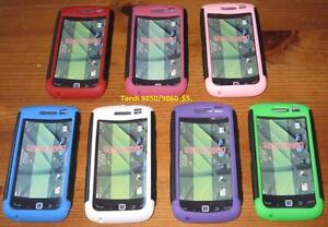 Blackberry cases and screen protectors.