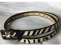 Women's Leather Belt Nine West