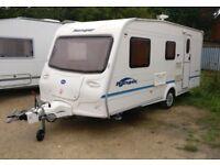 Bailey Ranger 470/4 model Cris registered 4 berth caravan Years 2005