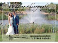 Wedding Photographer all areas.