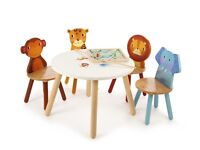 John Lewis Tidlo Jungle Animal Table and Chairs Set