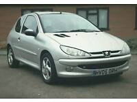 Peugeot 206 1.4 ZEST(2005)LONG MOT/ALLOYS/3-Door-Full S/History-Air Con/JVC CD Stereo-Lovely Car!