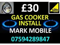 Plumber gas cooker installation 07594289847