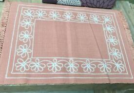 Set of 6 placemats & napkins. XCHURCH