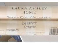 Laura Ashley wallpaper x2