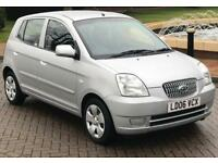 KIA Picanto 1.1 LX 5dr Petrol AUTOMATIC, Low Mileage, Immaculate, Cheap Insurance, Ideal First Car
