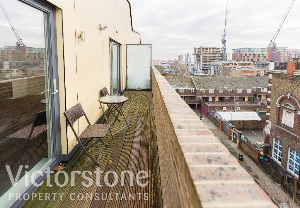 STUNNING NEW TWO BEDROOM FLAT IN BOW WITH BIG OPEN PLAN TWO BATHROOMS BIG PRIVATE BALCONY