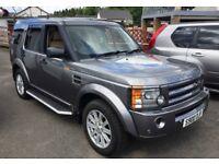 2007 Land Rover Discovery 3 2.7 tdv6 XS AUTO Silverstone Grey Cream leather FSH inc T/Belts mot 2019