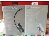 SEALED SPECIAL EDITION Beats SOLO 2 Wirelss SPACE GRAY & SILVER from APPLE STORE