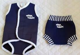 Happy nappy and baby wetsuit -size medium