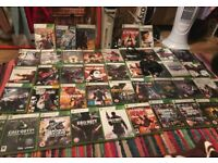 Massive Xbox 360 bundle console leads wired controller +45 games £225