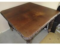 Victorian Mahogany Extending Wind Out Dining Table Decorative Restoration TLC