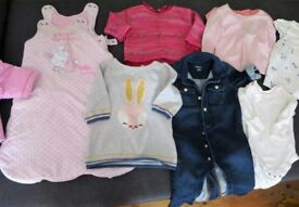 Baby girl clothes bundle 3-6 months