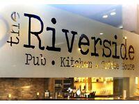 Bar staff/supervisor - Riverside, Dunblane