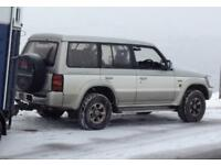 Mitsubishi Pajero Exceed 2.8 auto 1994 breaking for spares or repair