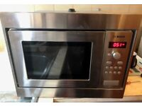 **BOSCH INTEGRATED MICROWAVE**HARDLY USED**VERY GOOD CONDITION**FULLY WORKING**NO OFFERS**