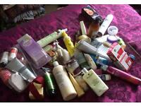 Joblot cosmetics and toiletries. Carboot. Market stall