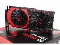 r9 390 msi edition gpu AMD radeon 8GB gddr5 high performance