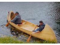North American Indian Canoe.