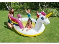 Spraying Unicorn Pool