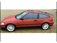 Honda CRX 1987 1.6 not eg ek ep civic Integra accord type r