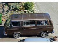 Gorgeous Retro VW T25 2.1ltr Petrol Caravelle GL Day Van/Camper
