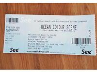 1x Ocean Colour Scene Ticket - Leeds Millennium Square - Saturday 23rd July.