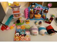 Children's Disney toy bundle play sets in VGUC