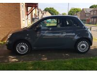 Lovely Fiat 500 Lounge in Grey! 61 plate!