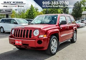 2010 Jeep Patriot NORTH, 4X4, SUNROOF, A/C, PWR WINDOWS/LOCKS