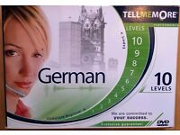 Tell Me More - German, Version 9, 10 Levels - Learn German with Tell Me More