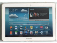 Samsung Galaxy Tab 2 10.1 - with USB cable PLUS FREE 8GB MicroSD Card and cover