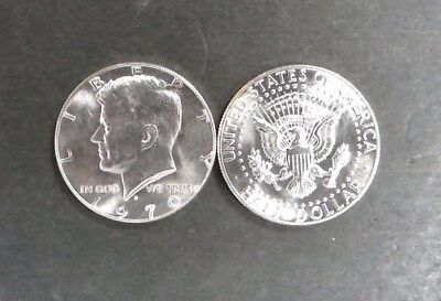 1970-D GEM BU 40 % Silver Kennedy Head Half Dollar - Single Coin