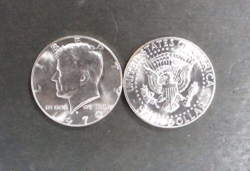 1970-D GEM BU 40 % Silver Kennedy Head Half Dollar - Single Coin