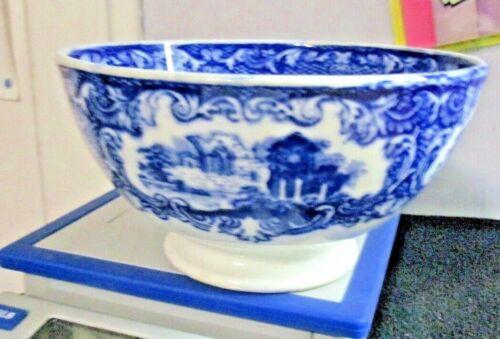 Antique Maastricht 5 inch Bowl Flow Blue ABBEY