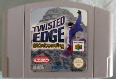Nintendo N64 game - Twisted Edge Snowboarding in Box with Manual