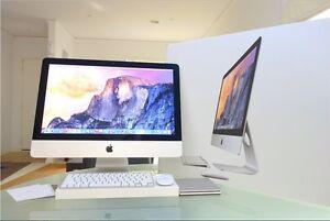 "iMac 21"" 2014 slim + DVD player + box AS NEW! Melbourne CBD Melbourne City Preview"