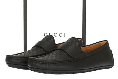 8389a4183c4 NEW GUCCI MEN S FABULOUS MICROGUCCISSIMA LEATHER LOAFERS DRIVER SHOES ...