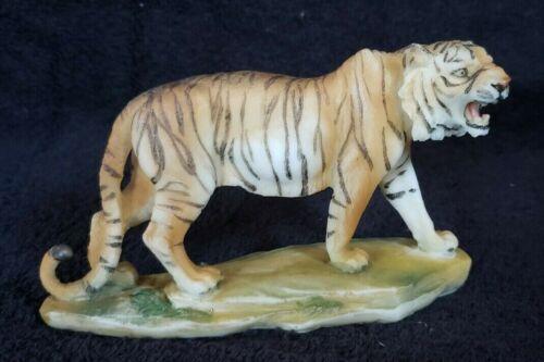 """5.25"""" Bengal Tiger Statue Figurine Safari Wildlife Wild Cat Animal Figure Nature"""