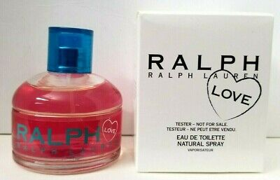 RALPH LOVE by RALPH LAUREN eau de toilette 3.4 oz New in TESTR DEMO BOX
