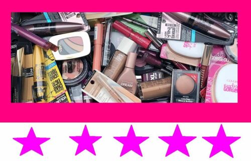 10pc Mixed ALL MAKEUP Beauty Lot EYES + LIPS + FACE High End & Drug Store + BAG!