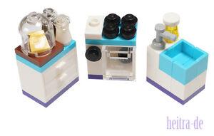 LEGO Friends  - Küchenmöbel / Herd und Schrank und Spüle aus 41040  NEUWARE