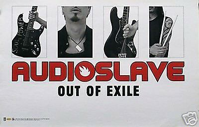 Audioslave 2005 Out of Exile Chris Cornell Promo Poster Original