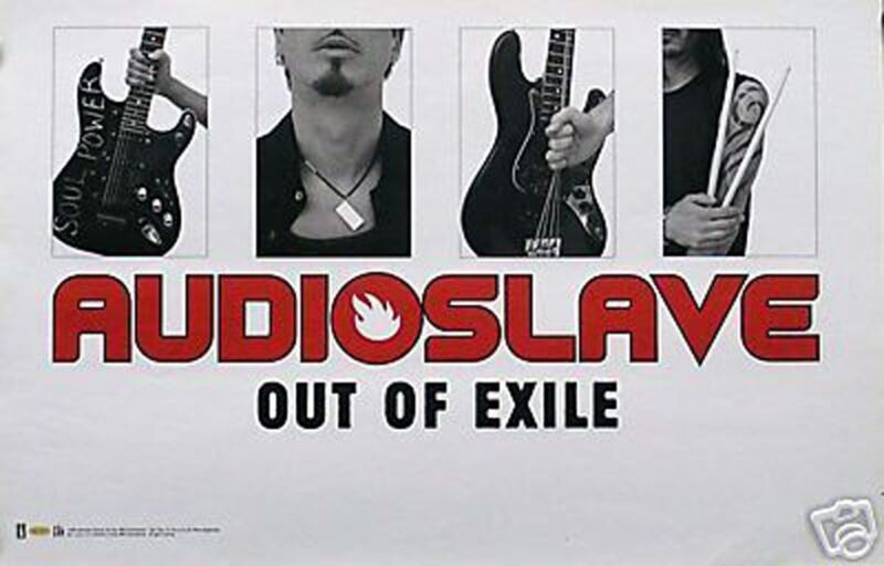 Audioslave Chris Cornell 2005 Out of Exile Original Promo Poster