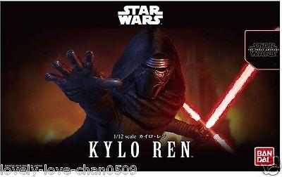 Bandai STAR WARS Kylo Ren 1/12 Scale model kit The Force Awakens STAR WARS
