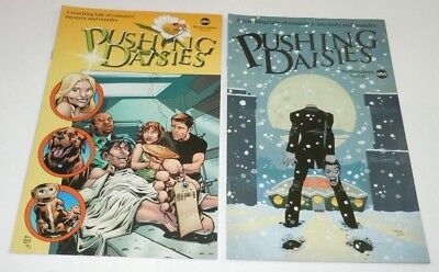 Pushing Daisies Comic DC LOT 2 Set SDCC Headless VARIANT ABC Tim Sale TV PROMO