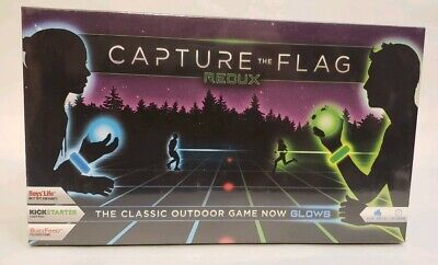 Glow In The Dark Games For Adults (Capture The Flag REDUX Glow-in-the-Dark Outdoor Group Game for Kids Teens)