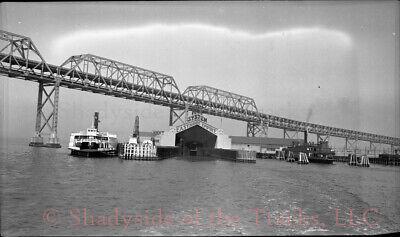 Key System Ferry Terminal & Mole Original Negative Oakland