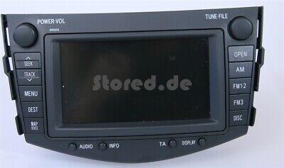 TOYOTA RAV4 DVD Navigationssystem Navi Navigation 2006 2007 2008 2009 B9004 NEUW ()